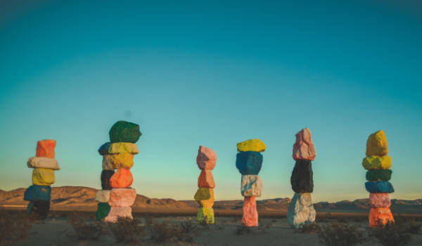 seven magic mountains art tour