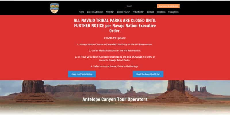 Is Antelope Canyon Open?