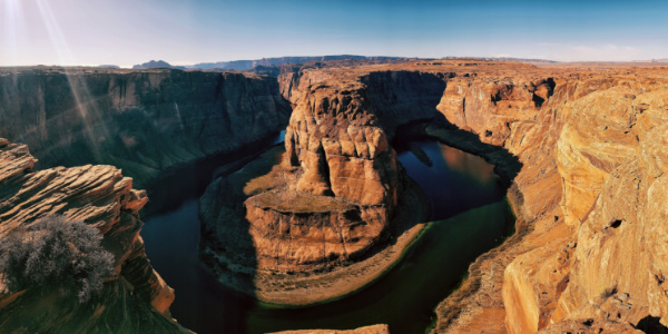 Different Angle of Horseshoe Bend