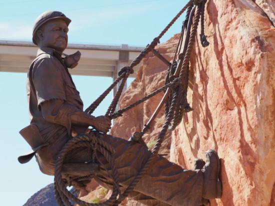 Hoover Dam Statue