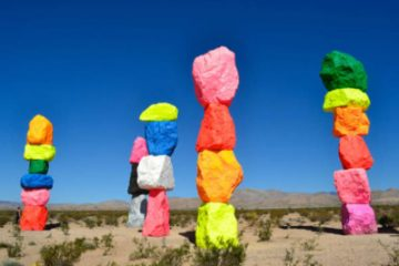 Seven Magic Mountains Las Vegas