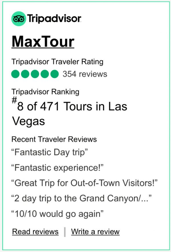 MaxTour Antelope Canyon Reviews