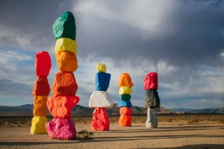 The amazing '7 Magic Mountains'