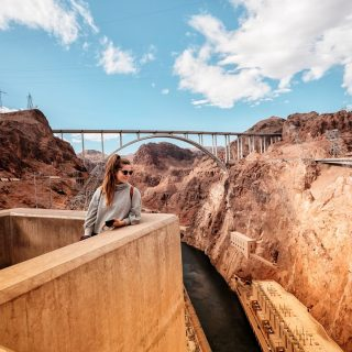 More great shots from @cassiescompass! A walk across the Hoover Dam is the best way to to grasp the enormity of this dam that was the biggest in the world when construction was completed in 1935. . . . . . . #hooverdam #hooverdambridge #visitnevada #travelnevada #maxtourvegas #travelgram #traveltheworld #architecturedesign #travelobsessed #travelpics #travelblog