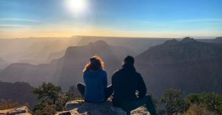 "Our small group tours allow our tour guides to take travelers off the beaten path. This is one of our so called ""secret spots"" at the Grand Canyon South Rim.  . . . . . . #grandcanyonsouthrim #maxtourvegas #grandcanyonnationalpark #grandcanyonnps #arizona🌵 #arizonalife #travelworld #travelcouple #traveltheworld #travelnow #travelmemories #travelmoments"