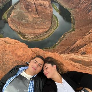 3 Años de amor y aprendizajes, te amo mucho amor de mi vida rominaparral   #grandcanyon #horseshoebend #Arizona #lasvegas #maxtourvergas