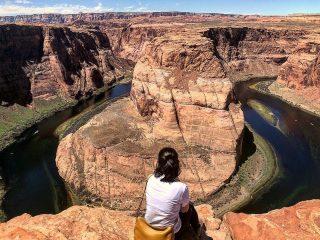 #horseshoebend #page #arizona #grandcanyon #glencanyon #usa #unitedstates #america #coloradoriver #nationalpark #onefineday #fromwhereisit #belakanggenic #springtrip2019 #usatrip #jadejalanjalan #maxtourvegas #ilovemaxtour 📷 : kaneray