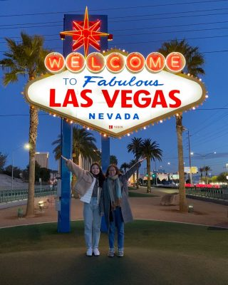 Welcome to fabulous Las Vegas!#LasVegas2020🇺🇸 #day10 #lasvegassign #maxtourvegas
