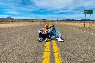 Love is a road that goes both ways24/3 Happy 9th Anniversary💛💛 #route66 #route66roadtrip #arizona #arizona🌵 #travelgram #travelgoals #travelgoal #couplegoals #coupletravel #coupletravelgoals #coupletraveler #roadtrip #roadtripusa #usa #usa🇺🇸 #maxtourvegas
